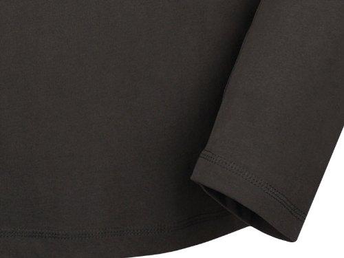 BUSHMAN - Camiseta - Básico - Manga Larga - para hombre gris oscuro