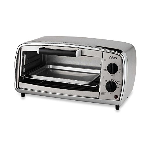 Oster 4-Slice Stainless Steel Toaster Oven