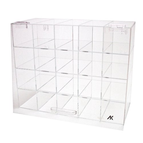 Safety Eye Glass Storage Case Acrylic With Door by AK