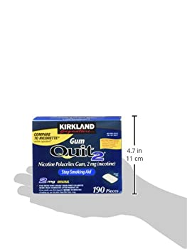 Kirkland Signature Quit Smoking Gum, 2 Mg, 380 Count 7