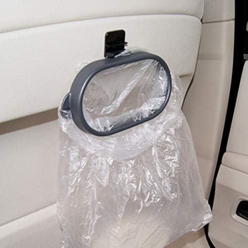 Wenjie Rubbish Bin Car Organizer Trash Bag Rack Hanger Frame Garbage Bag Holder Car Storage Bag Holder Car Garbage Bag Holder