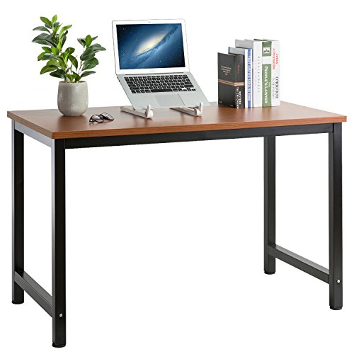 47'' Computer Desk Modern Simple Style PC Laptop Study Table Office Desk Workstation for Home Office by hollyland