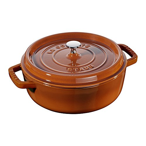 Staub 11126806 Dutch-Ovens, 4 quart, Burnt Orange