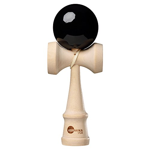 Kendama USA Classic Natural Wooden Toy Black