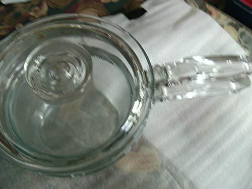Vintage Flameware Pyrex Large 1 1/2 Quart 3 Piece Double Boiler