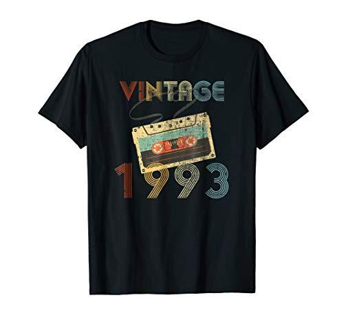 26th Birthday Gift Vintage 1993 Year Old Mixtape T-Shirt ()