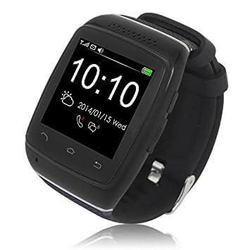 Logicom L-Watch Montre connectée pour Smartphone Noir