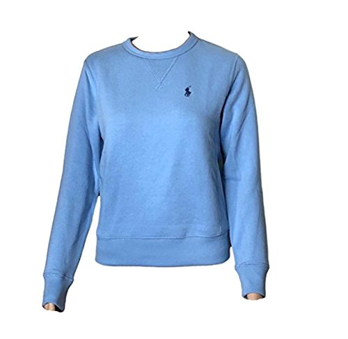 - Polo Ralph Lauren Womens Fleece Pullover Sweatshirt (M, babyblue