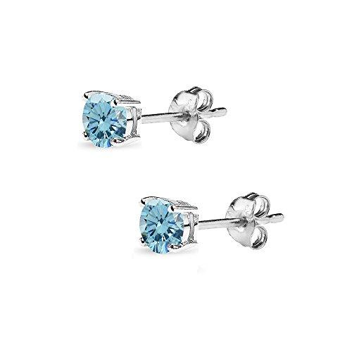 Buy dark blue stud earring