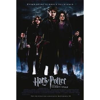 Amazon.com: Póster de Harry Potter y el cáliz de fuego B 27 ...