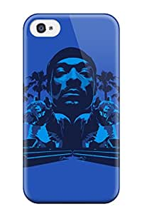 Awesome Snoop Dogg Flip Case With Fashion Design For Iphone 4/4s