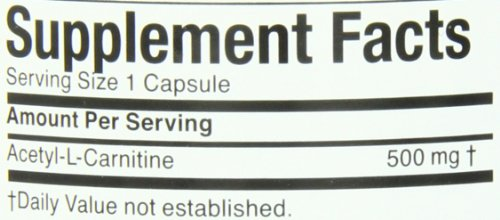 Twinlab Acetyl L Carnitine 500mg, 120 Capsules