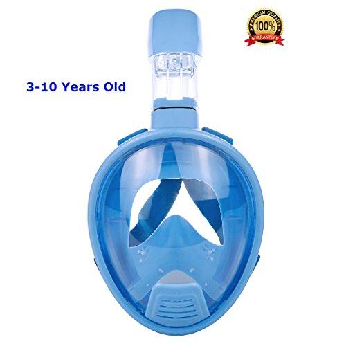 THENICE Kids Scuba Diving Mask Set Full Face Easybreath S...
