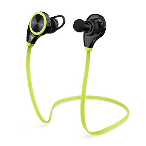 VIYAO Wireless Bluetooth Sport Headphone with/Mic for Running Stereo Earbuds Headset Earphones for Apple Watch iPhone 6s 6 Plus 5s Samsung Galaxy S7 S6 S5 HTC Android Smart Phones-Green