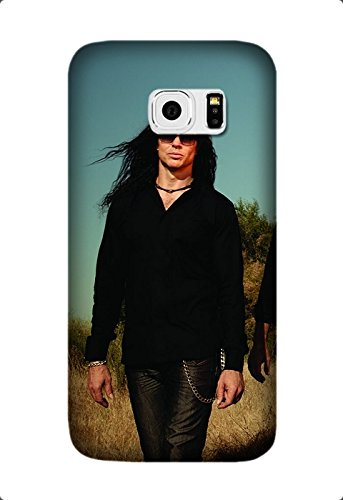 Perfect Ultra Thin megadeth hair rockers sky glasses Soft TPU Case Cover for Samsung Galaxy S7 Design By [Andrea Novak]