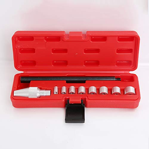 WINTOOLS 10pcs Clutch Alignment Aligner Tool Set 8 Collects Ranging from 10.95~24.9mm