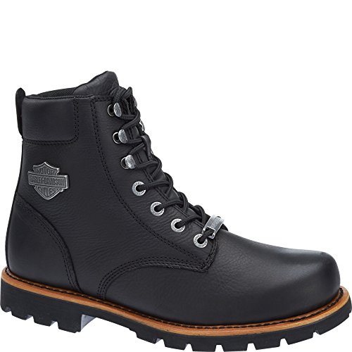 Harley-Davidson Mens Vista Ridge Leather Boots Black