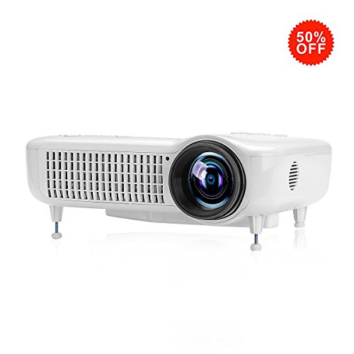Exquizon Projector 3000Lumens Support Smartphone 5018D product image