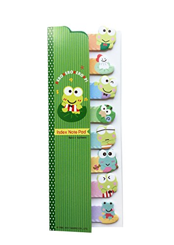 Sanrio Character Fabulous Sticky Note Set Hong Kong Special Edition (Keroppi)