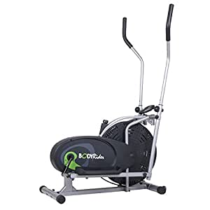Body Rider Fan Elliptical Trainer with Air Resistance System, Adjustable Levels and Easy Computer