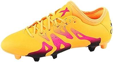 Puntuación Tres delicadeza  Amazon.com   adidas X15.2 FG/AG Mens Lace Up Track Football Boots Shoes  Orange/Purple/Black 11.5 US   Soccer