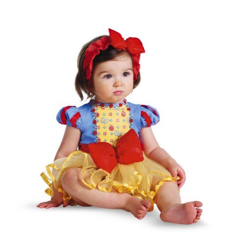 Disguise Costumes Disney Princess Snow White Prestige Infant, Yellow/Blue/Red, 12-18 Months