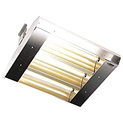 Electric Infrared Heater, 240V, 4800W