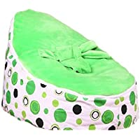 Babybooper Bean Bag, Green Apple, 28.4X16.1X20.5-Inches