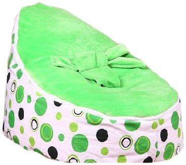 Babybooper Bean Bag, Green Apple, 28.4X16.1X20.5-Inches