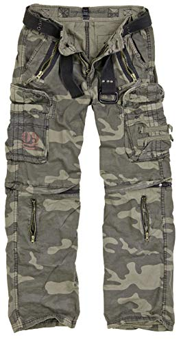 Surplus Homme Royal Outback Pantalon Royal Camo Taille 2