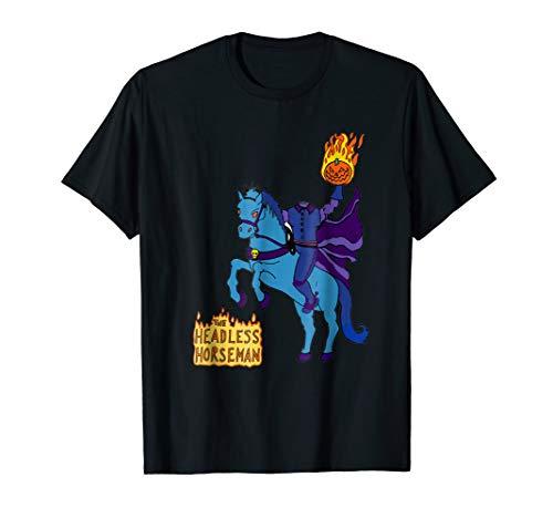 Headless Horseman t shirt Halloween 2017 trick or treat tee