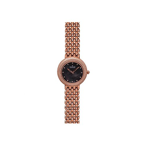 Charmex Las Vegas 6301 35mm Rose Gold Steel Bracelet & Case Synthetic Sapphire Women's Watch