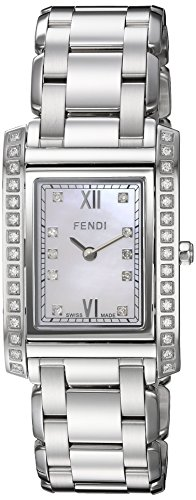 Fendi-Womens-Loop-Swiss-Quartz-Stainless-Steel-Dress-Watch-ColorSilver-Toned-Model-F775340DDC