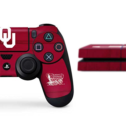 University of Oklahoma PS4 Console and Controller Bundle Skin - Oklahoma Sooners | Schools & Skinit Skin