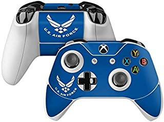 product image for USAF Blue Skin Decal Compatible with Microsoft Xbox One and One S Controller - Full Cover Wrap for Extra Grip and Protection
