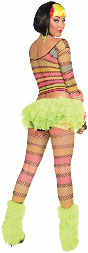 Forum Novelties Women's Rainbow Fishnet Top-Std, Multi, Standard for $<!--$10.97-->