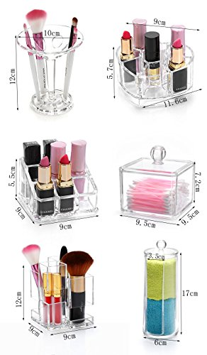 Generic Differents Style Make Up Organizer Storage Case Make up Cotton&Pad Box by Generic (Image #3)