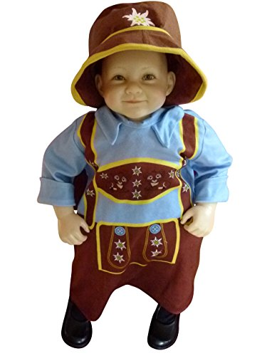 German Baby Outfit - Fantasy World Bavarian-boy Infant-s Halloween Costume-s,