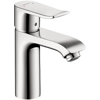 Hansgrohe 15070401 Puravida Single Hole Faucet, White/Chrome - Touch ...
