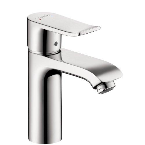 Hansgrohe 31080001 Metris 110 Single-Hole Faucet, Chrome - Metris Single Handle