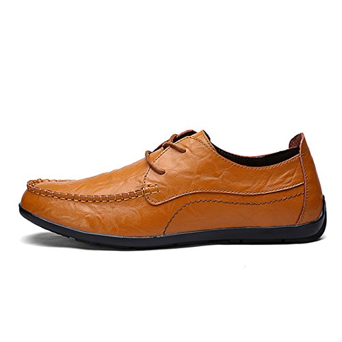 Minishion Boys Mens Nuovissime Sneakers Fashion Daily Style Marrone