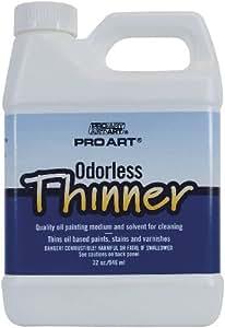 Pro Art Odorless Thinner, 33.8-Ounce