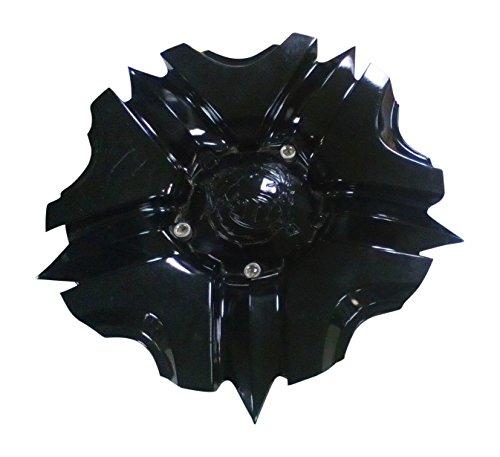 VooDoo Wheels 3265 3265-02 Gloss Black Wheel Center Cap