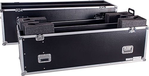 DEEJAY LED TBH2LED70WHEELS Fly Drive Case For Two 70-inch LED or Plasma Displays with Caster Board [並行輸入品]   B07GTVGV2G