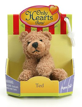 "Only Hearts Pets Ted 2"" Plush Bear"