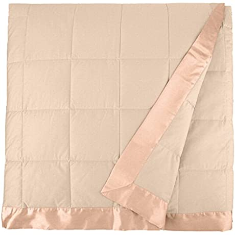 Downright 300 Thread Count 18 Oz Blanket 90 X 90 Sand