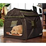 Cheap Animal Planet indoor/outdoor portable pet kennel.