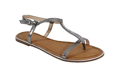 By Shoes - Sandalias para Mujer Hueso