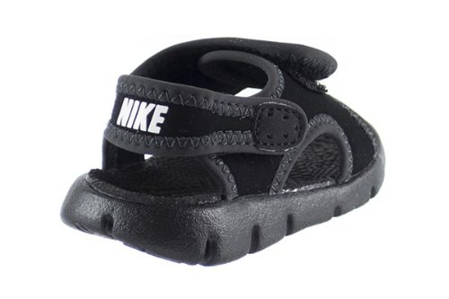 28d543b30b3b Nike Sunray Adjust 4 (TD) Baby Toddlers Sandals Black White Anthracite  386519-011 (9 M US)