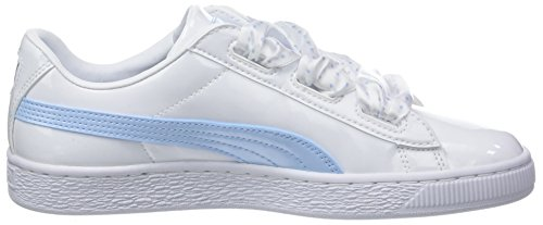 Stars metallic Sneakers Fille Heart Basket Gold Blanc cerulean White Puma 01 puma Jr Basses pEPBq